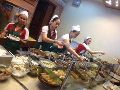 フィリピンでいろんな味を試したいなら☆フィリピンドマゲッティ親子留学