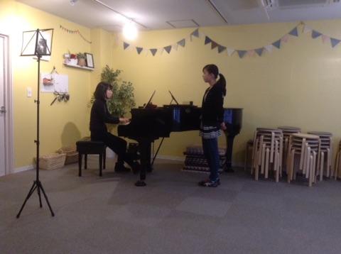 ピアノ伴奏で歌ってきました♪